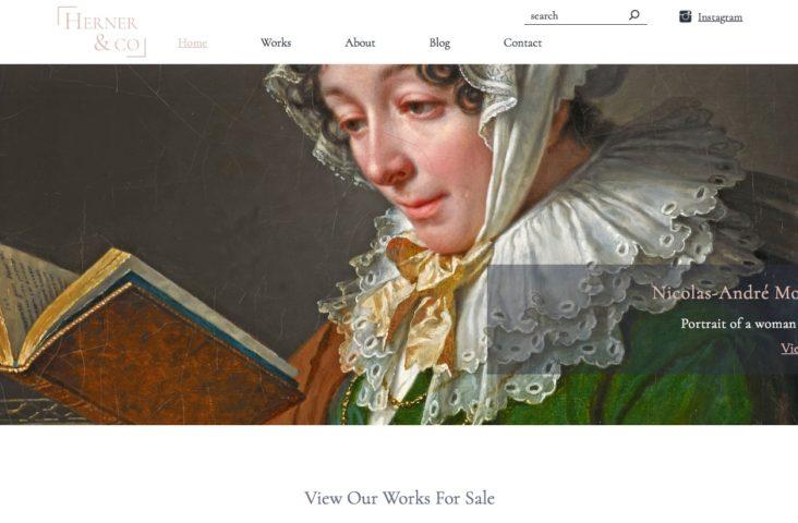Herner & Co's new website